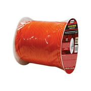 SecureLine  5/32 in. Dia. x 400 ft. L Braided  Nylon  Paracord  Orange