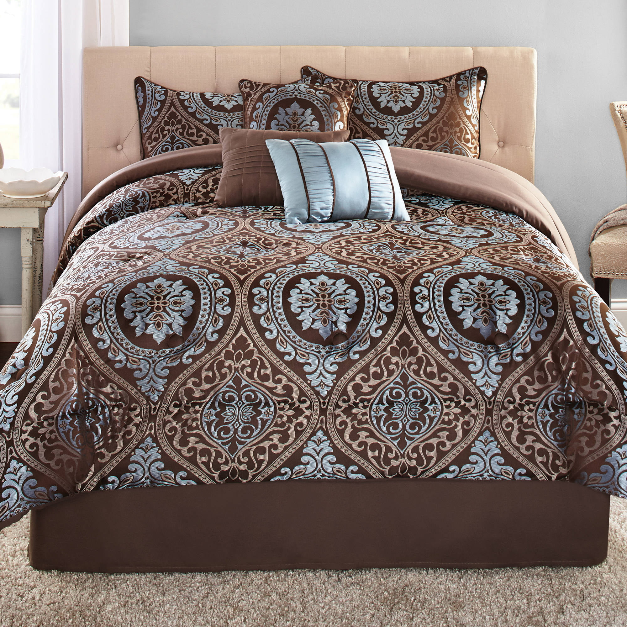 enamour comforter quilts oversized and down bedroom cal brown comforters grey sets black quilt king with marshalls white