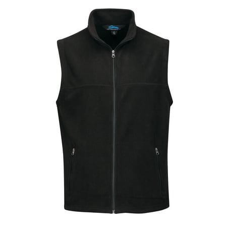 - Tri-Mountain Expedition F8358 Polar Fleece Vest, 2X-Large, Black