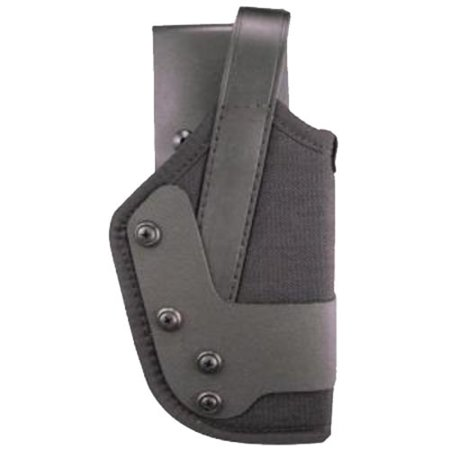 Uncle Mikes Dual Retention Jacket Slot Size 25, Right Hand, Duty Holster, Cordura Black
