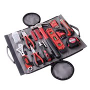 Apollo Tools DT4945 91-Piece Household Tool Kit in Roll-Up Bag