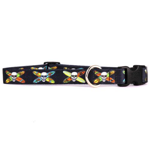 Yellow Dog Design LBS101S Longboard Skulls Standard Collar - Small