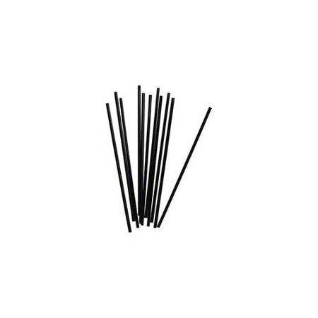 1000 Pack - Coffee Cocktail Stirring Straws Black Plastic Sipping Stirrers - 5 Inches Long Drink Stir Sticks For Bars Cafes Restaurants Home Use (1000, 5 Inchs)