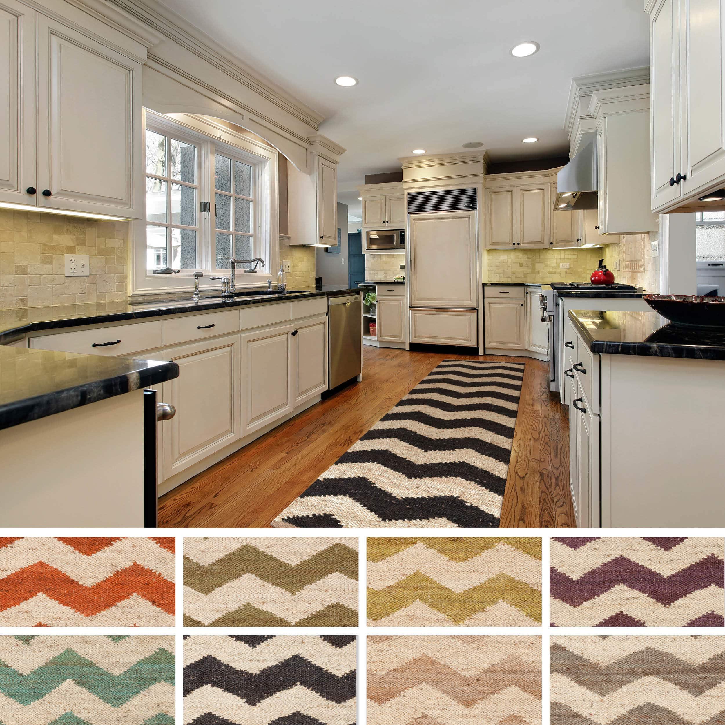 Surya Carpet, Inc. Hand-Woven Parker Natural Jute Chevron...