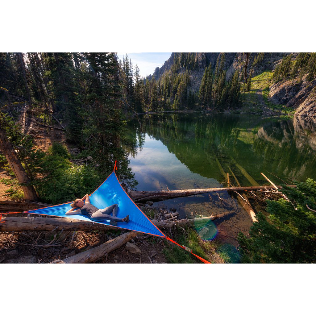 Click here to buy Tentsile T-Mini 2 Person Hammock Blue by Tentsile.
