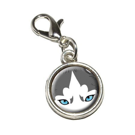 Siberian Husky Face - Dog Pet Bracelet Charm
