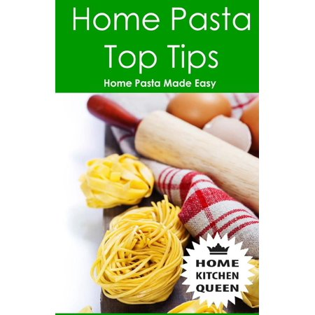 Home Pasta Top Tips: Top Tips for Making, Drying & Cooking Pasta & Noodles at Home. Use in Conjunction with Home Kitchen Queen Pasta Drying Rack. the Most Convenient Way of Drying Pasta Noodles at Hom (Noodle Rack)