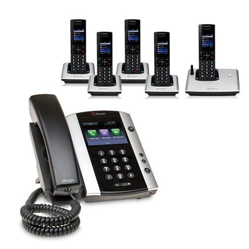 Polycom VVX 501 (2200-48500-001) VVX 501 12-line Business Media Phone with Power Supply by Polycom