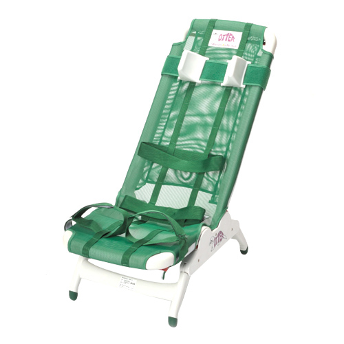 Drive Medical Otter Pediatric Bathing System Chair with Tub Stand 34inc(H) x 50inc(L) x 17inc(W), Soft Fabric, Large