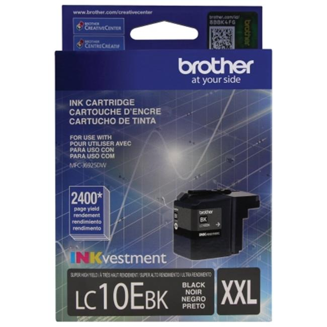 Brother International LC10EBK Innobella Super High-Yield Ink, Black