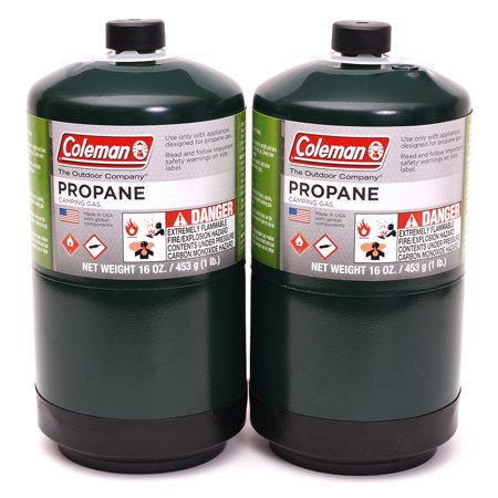 - Coleman Propane Fuel, 16oz, 2-pack