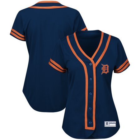 Detroit Tigers Majestic Women's Plus Size Absolute Victory Fashion Jersey - - 2007 Absolute Jersey