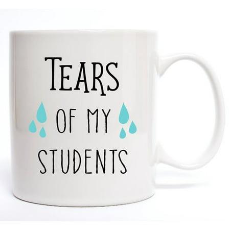 Davis Vinyl Designs Tears Of My Students Coffee Mug