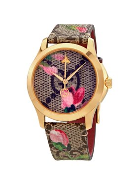 New Little Girls Beauty Flowers Dial Quartz Watch High Quality Kids Casual Leather Dress Watch Child Dress Gift El Reloj Clock Bracing Up The Whole System And Strengthening It Back To Search Resultswatches