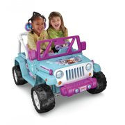 Power Wheels Disney Frozen Jeep Wrangler 12V Ride On Vehicle