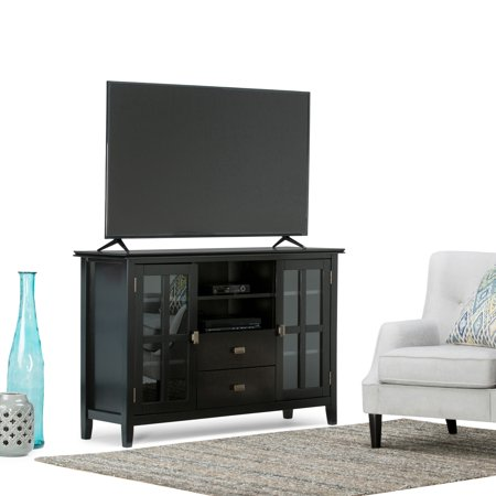 100% authentic d75da 9e62a WyndenHall Stratford Solid Wood 53 inch Wide Contemporary TV ...
