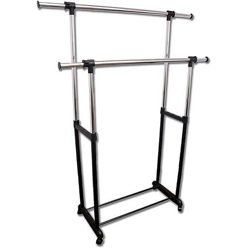 ORE International Double Levers Clothes Rack