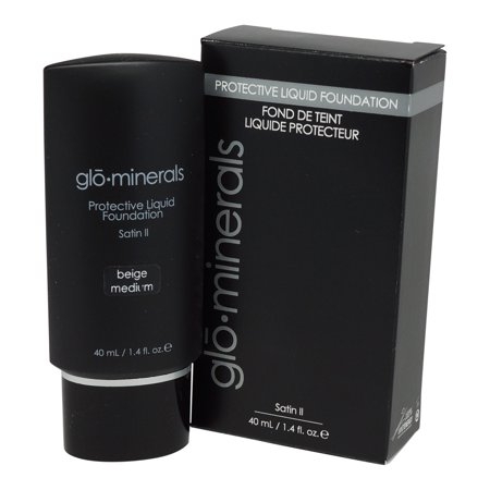 - glominerals gloProtective Liquid Foundation Satin: Beige-Medium