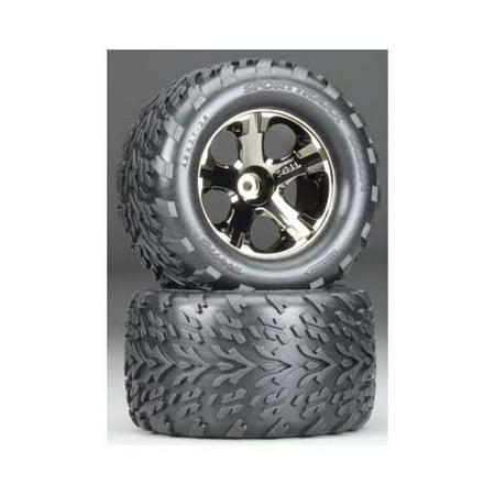 Talon Tires (3669A All-Star Blk Chrm Whls Talon Tires Multi-Colored )