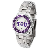 TCU Women's Competitor Steel Watch