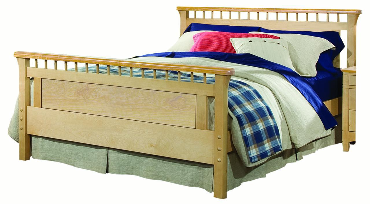 Bennington Full Bed, Natural by Bolton Furniture