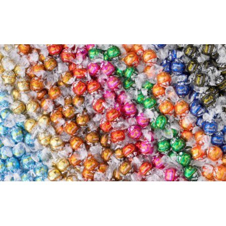 Boxed Truffle - Lindt Lindor Truffles 8-10 Flavor  Flavors Assorted Truffle Box 100 Truffles Total