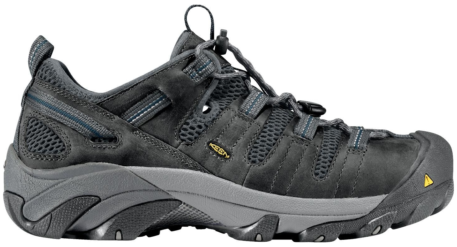 4dcc3d2360d9e3 Keen - KEEN Men s Atlanta Cool ESD Steel Toe Work Shoes (Gargoyle ...