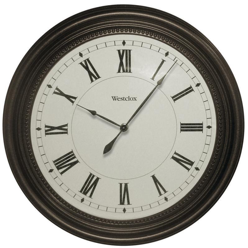 "Round Westclox 16"" Wall Clock 32223"
