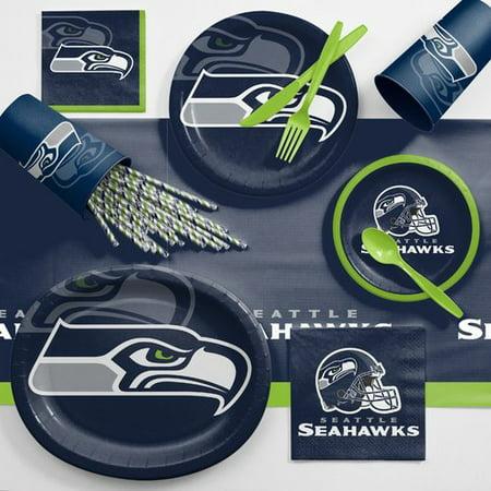 Seattle Seahawks Ultimate Fan Party Supplies - Seahawks Party