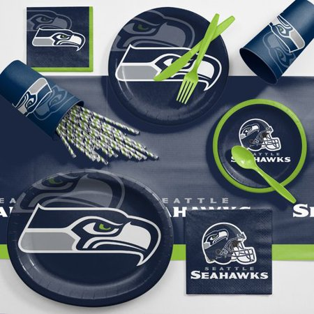 Seattle Seahawks Ultimate Fan Party Supplies - Party Supply Seattle