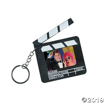 Director's Clapboard Picture Frame Keychains (Clapboard Keychain)