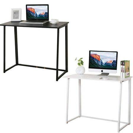 Zimtown White / Black Computer Laptop Writing Study Desk Modern Home Office ()