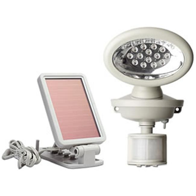 MAXSA Innovations 40217 14 LED Solar-Power Motion-Activated Security Spotlight