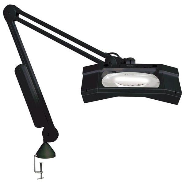 WAVE-Plus ESD Magnifier 5D-45in Arm-Edge Clamp-Black