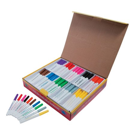 Washable Fine Tip 10-Color Marker Classpack Classpack Fine Line Markers