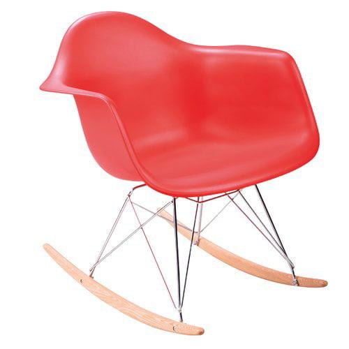 harriet bee berta rocker miracle kids rocking chair - walmart