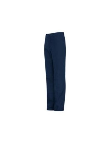 Navy EXCEL FR Mens Bulwark Jean-Style Pant /9 oz