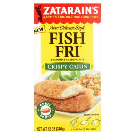 Zatarains Brding Fish Fry Crspy Cjn,12 Oz (Pack Of 8)