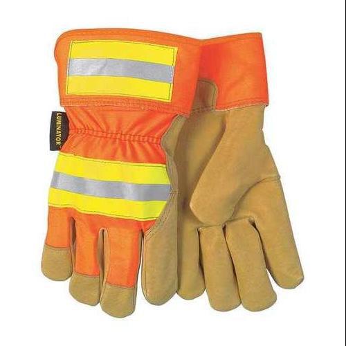 Memphis Glove Size XL Leather Palm Gloves,19251XL