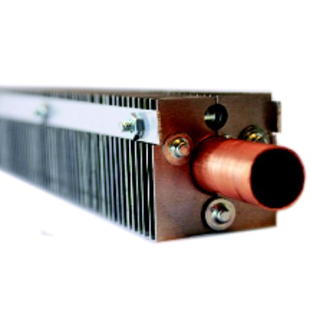FABTEK CLR-1 Fin Clamp Hydronic Baseboard Element Additional Fins, 1