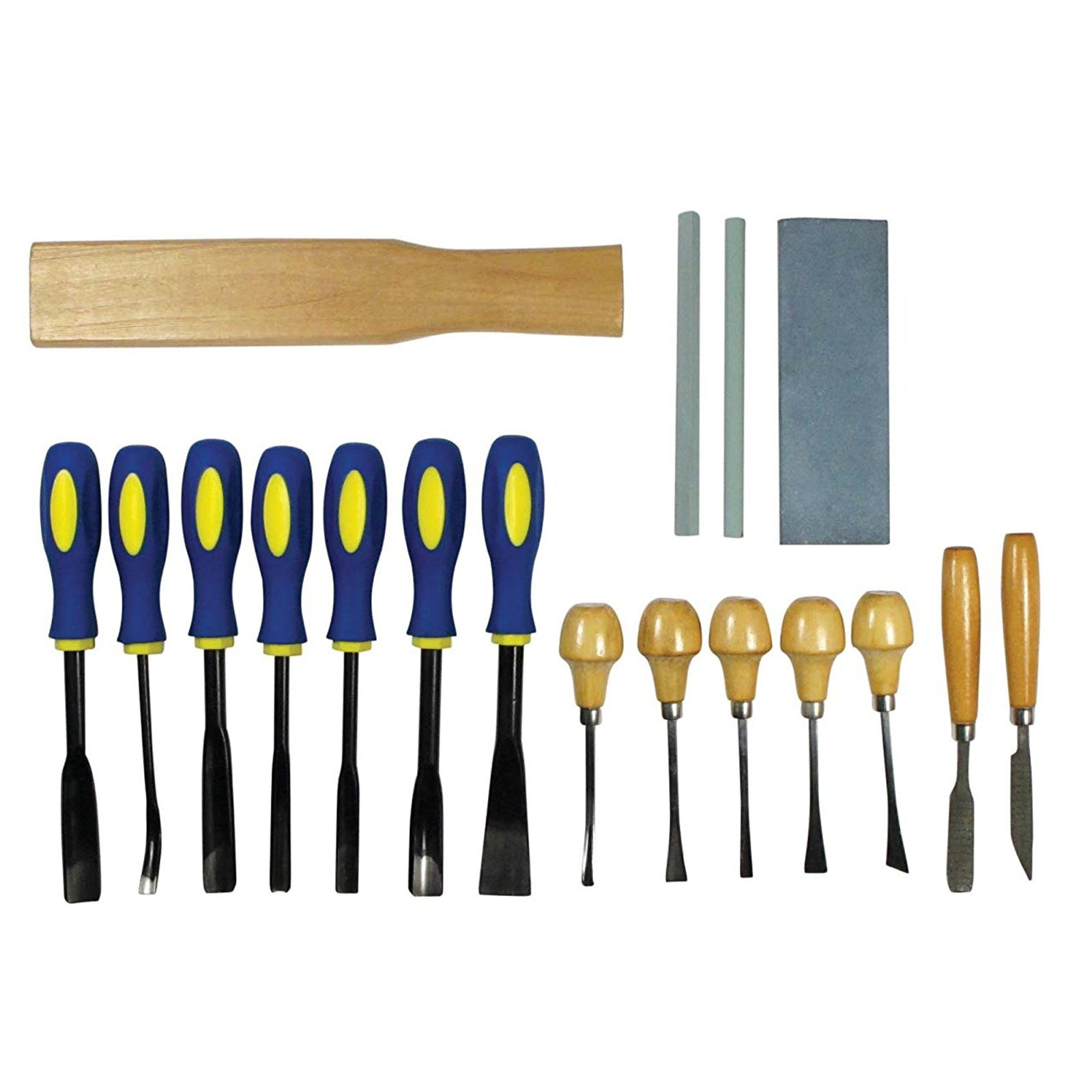 Universal Tool Wood Carving Chisel Set Woodworking Supplies (2 Sizes)