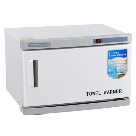 (16L 2 in 1 Hot Towel Warmer Cabinet w/ UV Sterilizer Spa Hair Beauty Salon Equipment Health)
