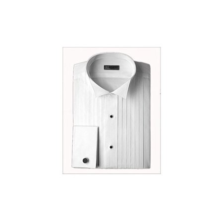 various colors rock-bottom price cheaper sale Ike Behar Wing Collar with 1/2 Inch Pleats Tuxedo Shirt