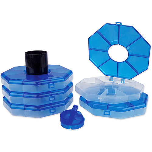 Ultimate Stacker Storage, Blue Octagon