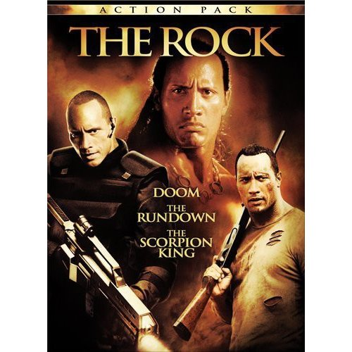 Rock Action Pack: Scorpion King / The Rundown / Doom (Unrated) (Widescreen)