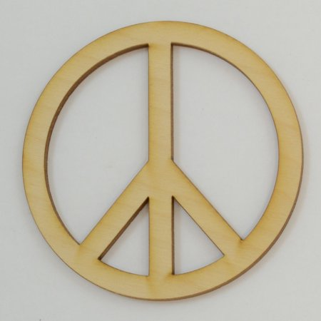 Package Of 10, Peace Sign Cutout 3