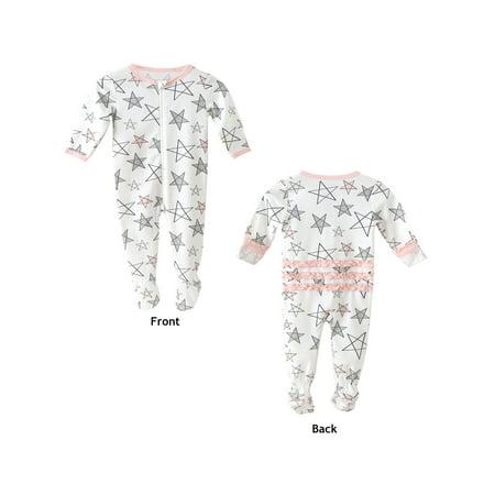 Certified Organic Cotton Baby Sleepwear Footie Pajamas