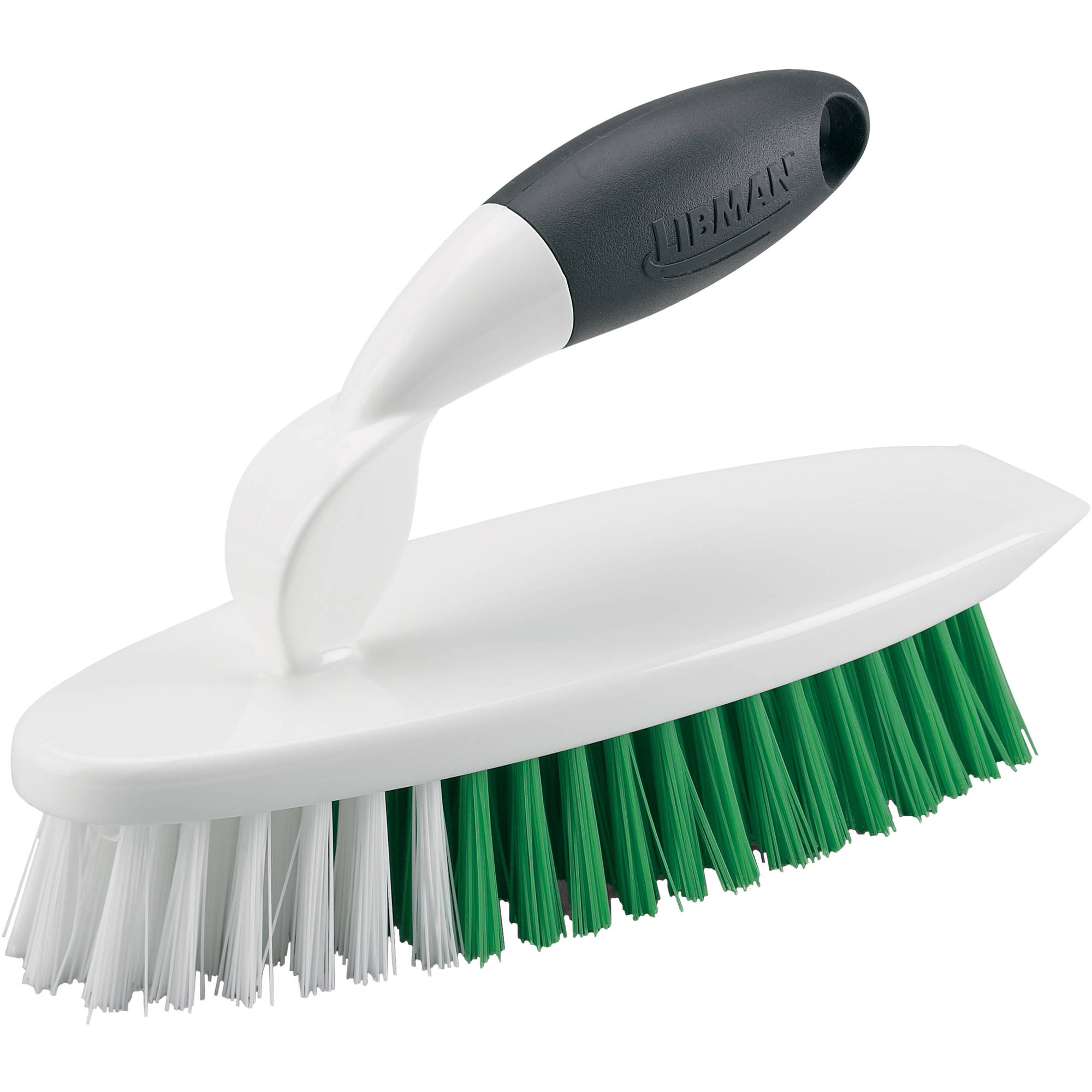 Libman Easy Grip Scrub Brush, White