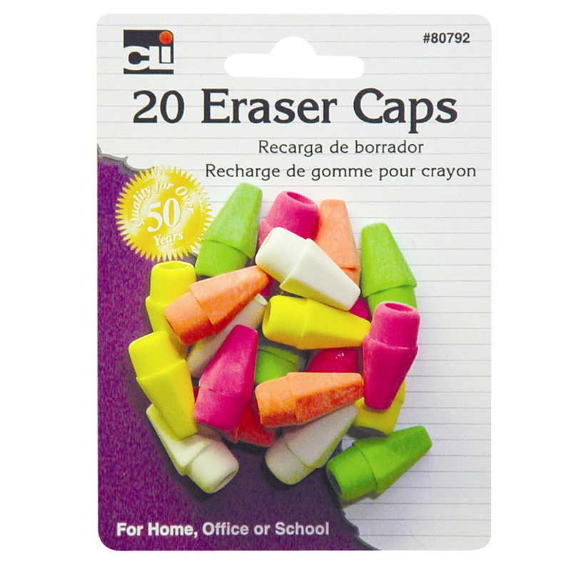 Pencil Eraser Cap