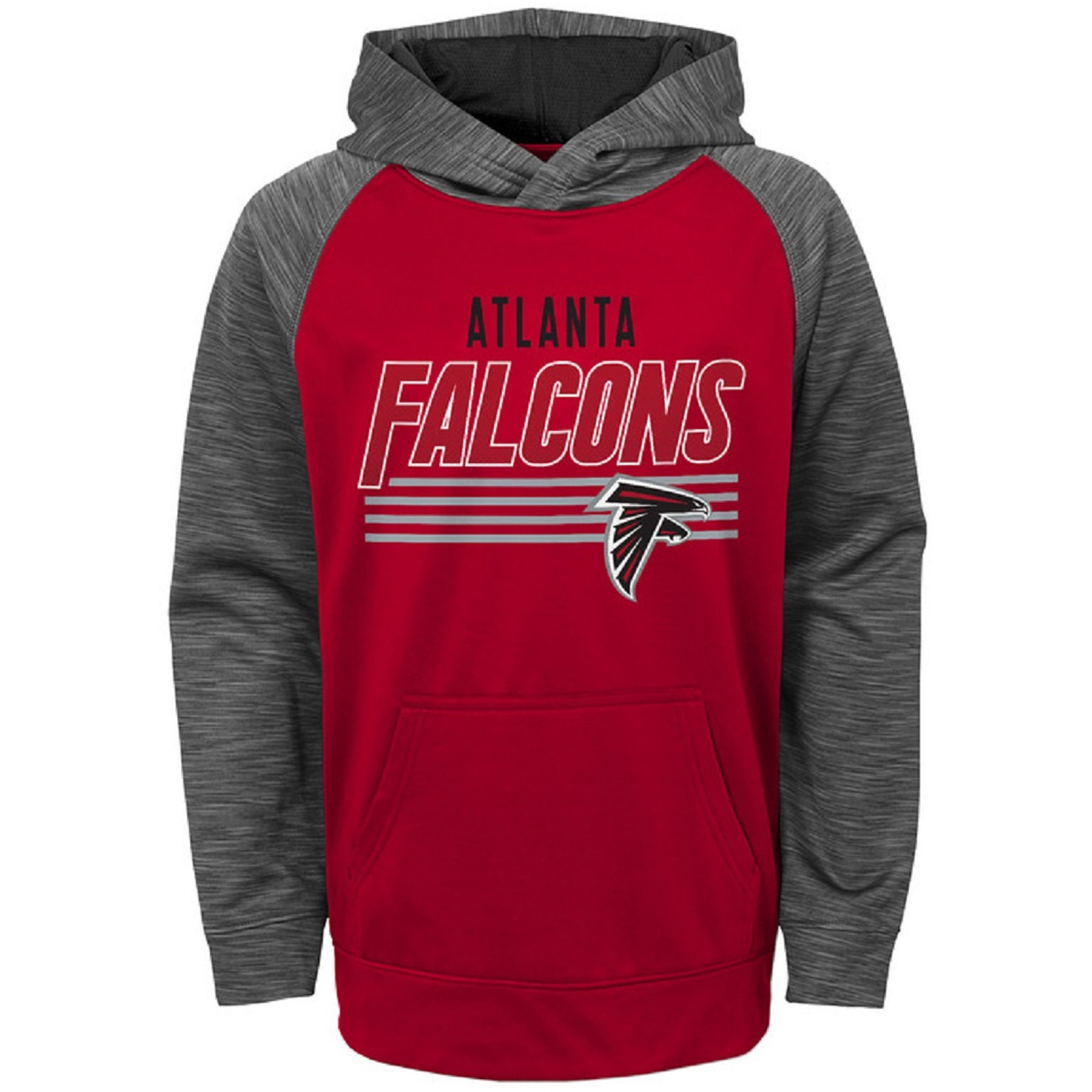 Toddler Red Atlanta Falcons Fleece Hoodie